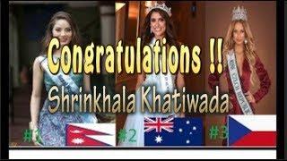 यस कारणले शृंखलाले जित्दै Miss World    Top 5 Contestant 2018    Shirnkhala Khatiwada   