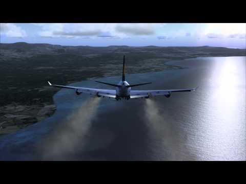 Emergency Landing Solomon Islands 747-400