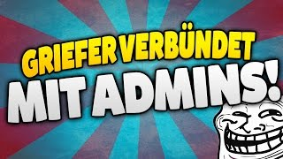 griefer verbndet mit admins xd minecraft server trolling