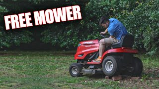 I got a Lawn Mower for FREE!! (Lawnmower Vlogs RETURN)