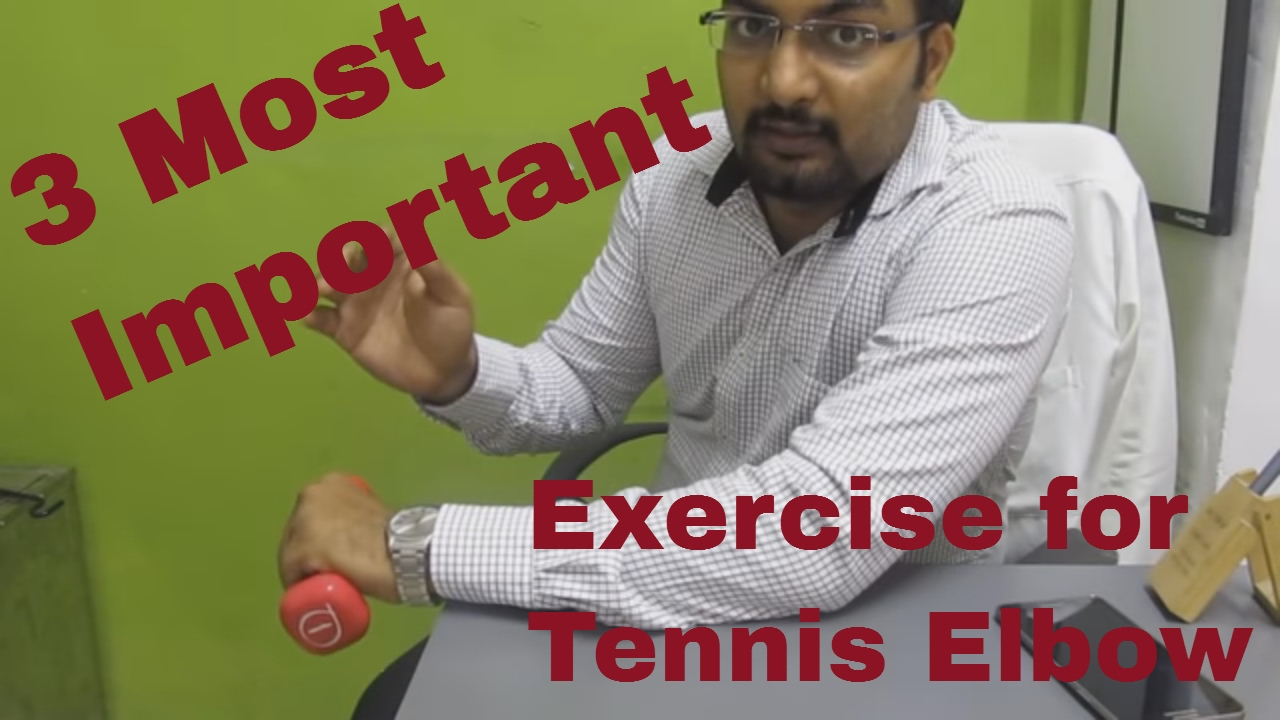 Treatment for tennis elbow in hindi Video advise