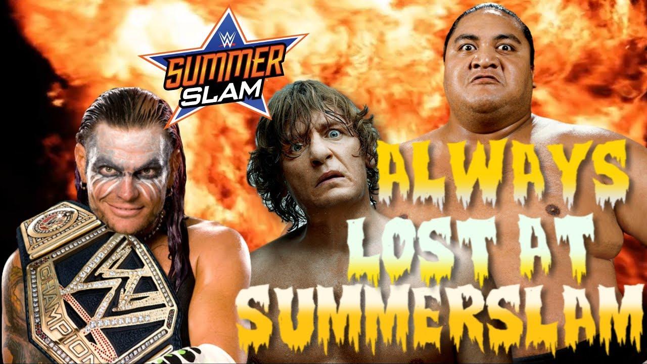 16 SHOCKING WWE WRESTLERS WHO ALWAYS LOST AT SUMMERSLAM