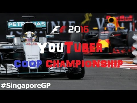 F1 2016 YOUTUBER COOP // R15: SINGAPORE-MARINE BAY