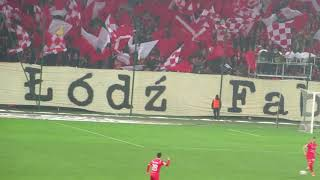 Widzew Łódź 0-0 Stal Stalowa Wola - flagowisko! 2018/19