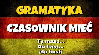 Odmiana czasownika mieć haben po niemiecku