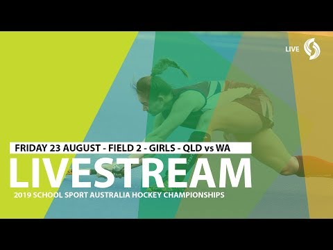 🔴 2019 SSA 12 Years And Under Hockey - Girls - QLD Vs WA - Field 2 - Game 2