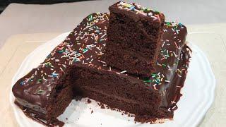 Keki ya chocolate  Kuoka keki ya chocolate na cream yake kwa njia rahisi na haraka Collaboration .