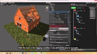 Construction Simulator 2015: Mission Editor Tutorial (DE / EN subs)