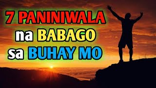 These 7 beliefs will change your life | Motivational speech Tagalog | Brain Power 2177