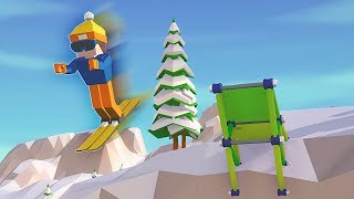 Carried Away - High Flying Ski Jumping MADNESS! - Carried Away Campaign Gameplay Part 2