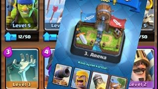 Clash Royale / Arena 3 Deste önerileri !