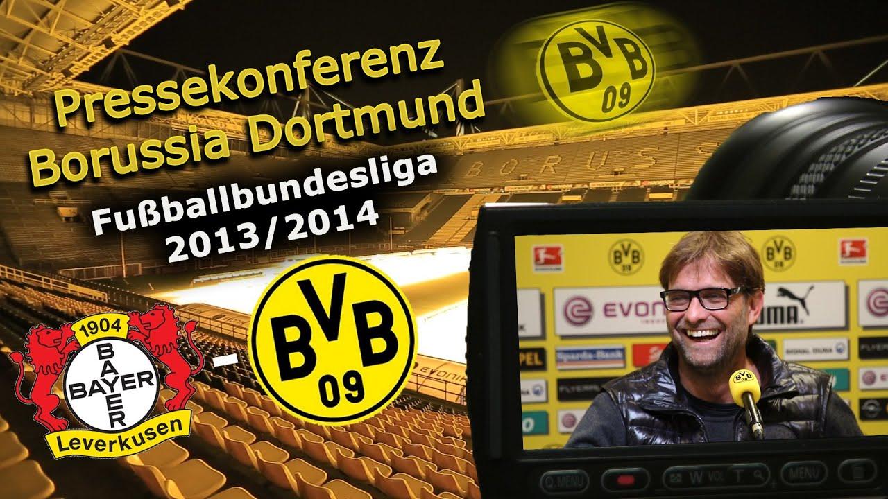 BVB Pressekonferenz vom 24. April 2014 vor dem Spiel Bayer 04 Leverkusen - Borussia Dortmund