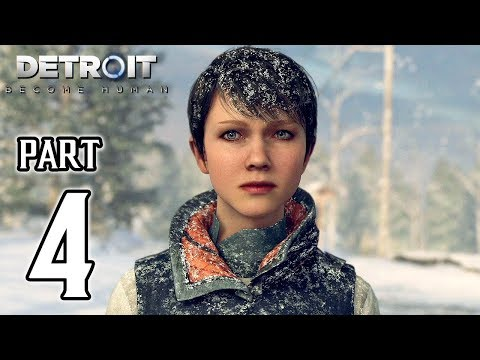 DETROIT BECOME HUMAN Walkthrough PART 4 (PS4 Pro) No Commentary Gameplay @ 1080p HD ✔