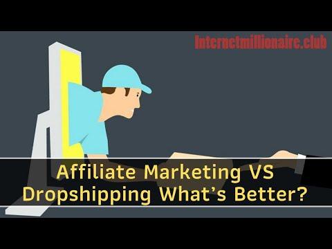 Affiliate Marketing VS Dropshipping What's Better? thumbnail