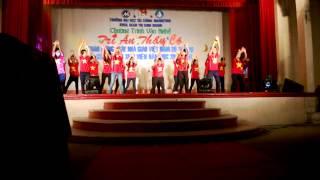 Nhảy hiện đại - Cụm 2 - Khoa QTKD - UFM