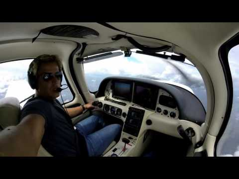 Cirrus SR22 Super Cross Country: 3 Days, 5 IFR Flights, 14 Hours, 2,500 Miles