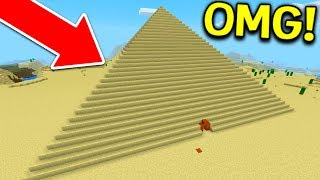 If PYRAMIDS were in Minecraft Pocket Edition!!!