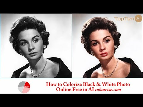 How to Colorize Black & White Photo Online Free in AI Colourise 😍 (2021)