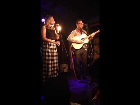 Paul Adelstein and Stacey Oristano singing 2000 Miles IAMA Theatre Holiday Cabaret 12714