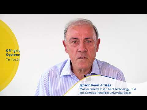 Igancio Pérez: Off-grid renewable energy systems to foster viable projects