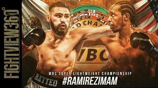RAMIREZ VS IMAM PREVIEW! WBC UNOFFICIAL 140LB TOURNEY! BRONER FIGUEROA PROGRAIS POSTOL INVOLVED!