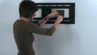 Wall Mount TV, HDTV Installation, Plasma LCD TV, Home Theater Recessed Pro-Power Kit Installation