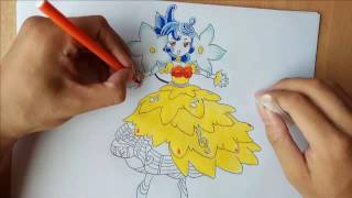 [ Drawing Yugi-Oh Monster ] Bloom Prima the Melodious Choir