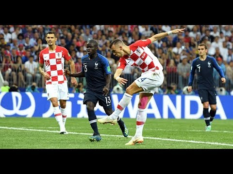 Ivan Perisic GOAL! ⚽ FRANCE 1-1 CROATIA 🇫🇷 🇭🇷 WC2018 FINAL