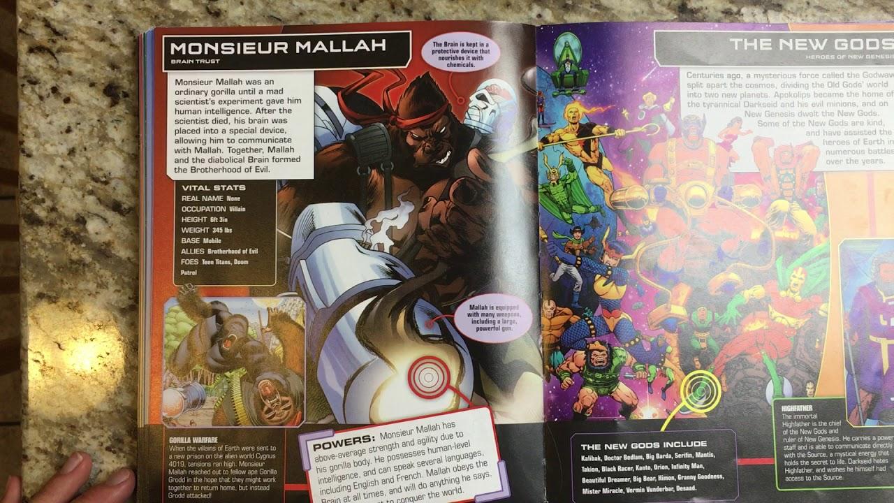 DC Comics : Monsieur Mallah - YouTube