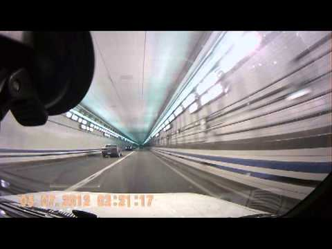 Virginia Beach - Hampton underwater tunnel on I-64