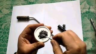 видео горелка газовая самодельная (на природном газе )