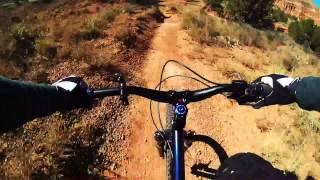 Palo Duro Canyon MTB section
