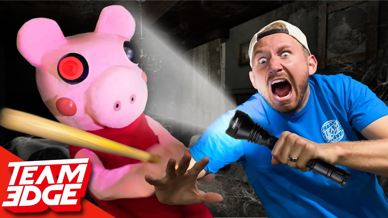 PIGGY Hide and Seek In REAL Life!!