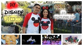 DIY DISNEY COUPLES SHIRT: Mickey & Minnie