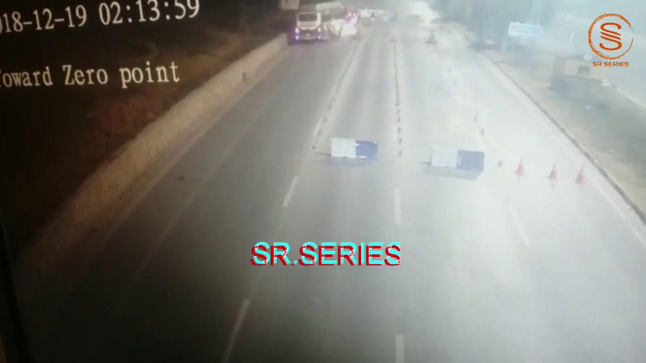 Faizabad Accident CCTV Footage(Islamabad Highway) | SR SERIES