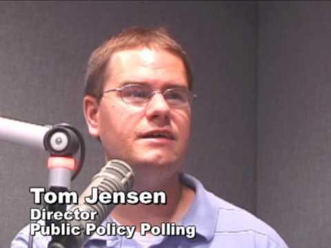 Tom Jensen on latest gubernatorial poll