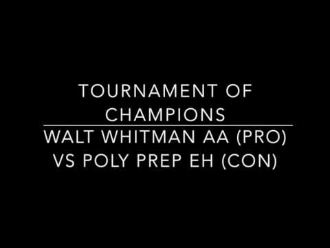 Walt Whitman AA vs Poly Prep EH TOC Octos