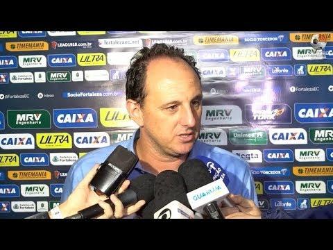 Coletiva Rogério Ceni - Figueirense 1 x 3 Fortaleza - Série B - 18/05/2018