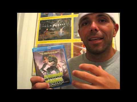 Swamp Thing the movie blu-ray + DVD combo pack review