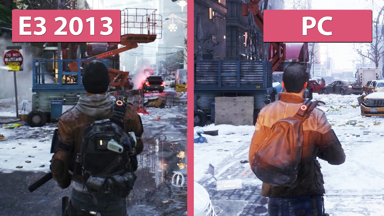 Xbox One Vs Ps4 Graphics Side By Side The Division – E3 20...