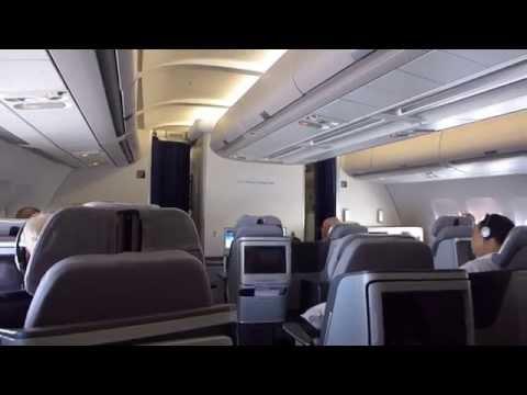 Lufthansa Business Class Bangkok Frankfurt LH773 A340-300 June 2014