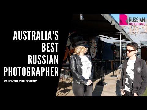 Australia's Best Russian Photographer (English subs). Valentin Zhmodikov / Russian_Influence