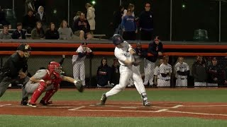 Illinois Baseball Highlights vs. Bradley 4/24/18