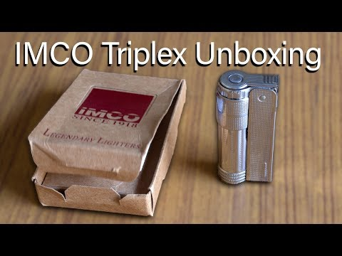 Repeat IMCO Triplex 6700 Lighter Unboxing by AsBi - You2Repeat