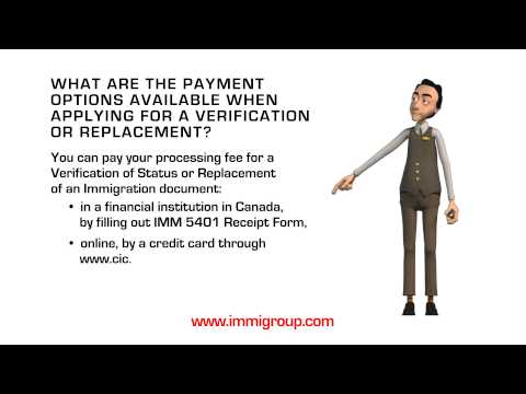 What are the payment options available when applying for a Verification or Replacement?