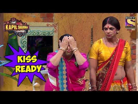 Santosh Prepares To Kiss Emraan Hashmi – The Kapil Sharma Show