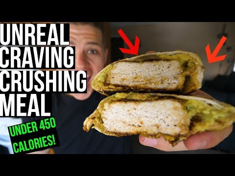 WEIGHT LOSS FRIENDLY CHIPOTLE CRUNCHWRAP (Under 450 Calories)