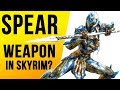 Skyrim Top 10 SECRETS That Were NEVER Added SPEAR WEAPONS
