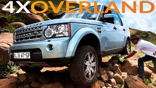 Toughest 4x4 trail in Southern Africa - Land Rover Discovery