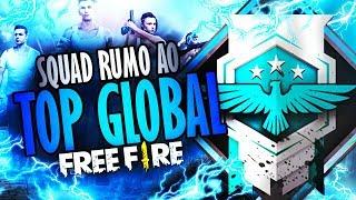 [🔴 LIVE #73] FREE FIRE ~ SQUAD RUMO AO TOP GLOBAL #SQUADMESTRE